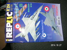 Revue Replic n°204 Morane Saulnier MS 406 EF 2000 Typhoon Fighting Falcon F-160