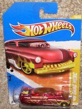 2011 Hot Wheels Car '49 Drag Merc 30 Red MOC HW Forty Niner w/ Flames