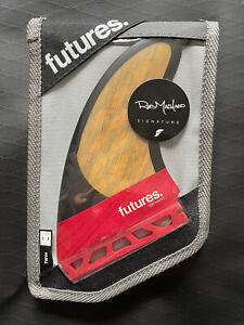 Futures Fins Rob Machado Blackstix Twin + 1 Set