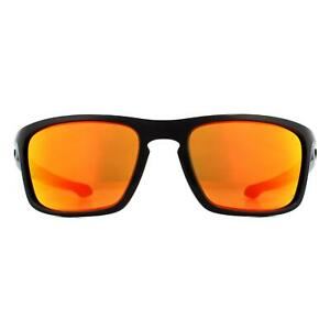 Oakley Sunglasses Sliver Stealth Asia Fit OO9408-08 Black Prizm Ruby Polarized