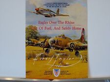 Eagles Over The Rhine, Robert.Taylor, Multi-Page Advertising Brochure
