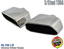 Exhaust tips Tailpipe trims set for BMW 645i X5 E53 DIESEL / PETROL BL186L/R