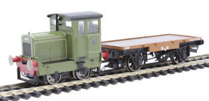 Hornby Ruston & Hornsby 48DS 0-4-0 diesel, green livery, DCC ready, new in box