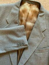 Jaeger Mens 100% Wool Grey 2 Button Blazer UK 44R