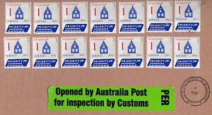 Nederland Netherlands Large 2014 International Priority Postal Cover - Australia