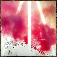 SON LUX Bones Ltd Ed Hand-Signed By All 3 LP Vinyl Record +FREE Indie Stickers!