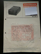 Original Service Manual  Nordmende Hifi Adapter 982.584A