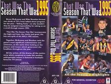 THAT WAS THE SEASON THAT WAS 1995 VIDEO VHS PAL A RARE FIND