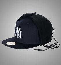 New Era 59Fifty New York Dog Ear Headphone Flat Peak Bucket Hat / Cap
