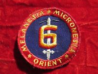 USMC 6th Marine Division PATCH Premium Quality twill Cheesecloth backOkinawa
