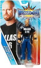 STEVE AUSTIN WWE Mattel 2017 Wrestlemania 32 Action Figure Toy - Mint Packaging
