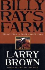 LARRY BROWN - Billy Ray's Farm - HARDCOVER ** Good Condition **free shipping**