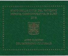 Vatikan 2 Euro 2018 Europäisches Jahr des Kulturerbes
