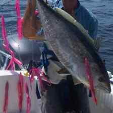 "64X 9"" 21.5cm Octopus Squid Trolling Skirt Lure 16 Colors 4 Each Tuna Marlin"