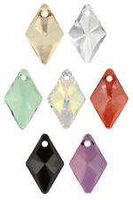Genuine SWAROVSKI 6320 Rhombus Crystals Pendants * Many Sizes & Colors