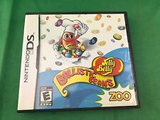 Jelly Belly Ballistic Beans (Nintendo DS, 2009) Complete