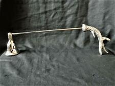 Silver Antler Candle Snuffer/Pagan/Stag/Wicca/Witch/Yule/Altar/Ritual