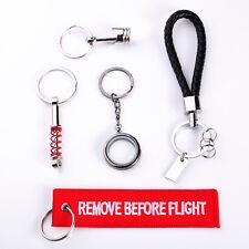5Pcs/set Practical Keychain Photo Frame Luggage Tag Car Keyfob Keyring Hot Gift