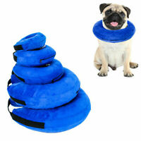 Protective Inflatable Collar Dogs Cats Soft Pet Recovery E-Collar Healthy Care