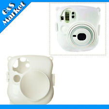 Fuji FujiFilm Instax MINI 25 Photo Polaroid Camera Crystal Protect Case - White