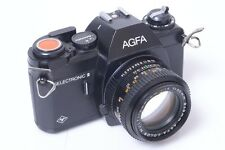 VERY RARE AGFA SELECTRONIC II 2 SLR.W/ COLOR 50MM 1.4 LENS