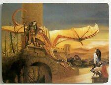 CHRIS ACHILLEOS Fantasy Art Fridge Magnet DEFIANT