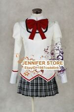 Puella Magi Madoka Magica School Uniform Cosplay Costume