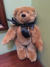 "Annette Funicello teddy Bear classic Brown 15""  jointed adorable"