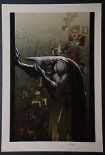 Batman Michael Turner Aspen Art Print