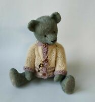 "handmade  OOAK Artist teddy bear  10"""