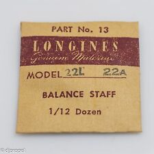 Longines Genuine Material Balance Staff Part 13 for Longines Model 22A 22L