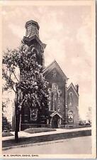 CADIZ, OH Ohio    M E CHURCH    c1910s      Postcard