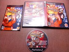 Sony PlayStation 2 PS2 CIB Complete Tested Naruto Ultimate Ninja 3 Ships Fast