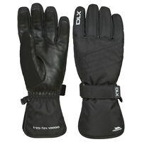 DLX Rutger Adults DLX Snowsport Warm Winter Waterproof Black Gloves