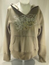 F1-10 NEW Aeropostale Women/'s Blue Front Pouch Pocket Hoodie Top