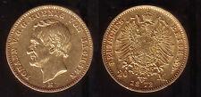 20 Mark Gold Sachsen 1872, selten!