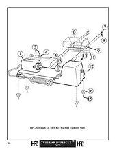 HPC Scotsman Tubular Key Duplicator Chuck Nut
