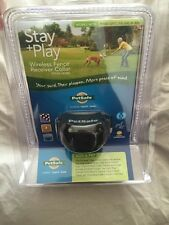 New- PetSafe Stay + Play wireless fence receiver dog collar Pif00-14288 pet