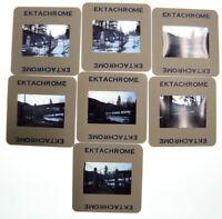 1978 Durango Colorado Old West Western Cemetery Ektachrome 35mm 7 Slide Lot Vtg