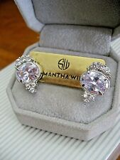Samantha Wills Bridal Infinite Mirage Large Oval Crystals with Trio Earrings NWT