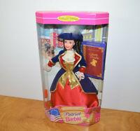 Vintage PATRIOT BARBIE Doll Mattel 1996 American Story Series Liberty Dream