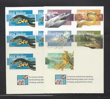 Australia 2570a-71a Mnh Snakes, Shark, Jellyfish, Crocodile *Intact Booklets*