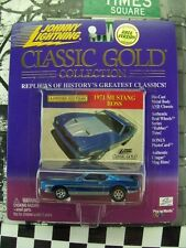 '00 JOHNNY LIGHTNING 1971 MUSTANG BOSS NEW IN BOX CLASSIC GOLD COLLECTION SERIES