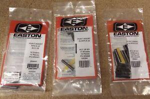 Easton Archery A/C/C Half Out Arrow Inserts Shaft Size Choice 12pk ACHHO