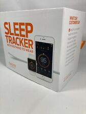 Beddit 3 Sleep Tracker, White, One Size, iPhone 5 & Up W IOS 9 Or Later Monitor