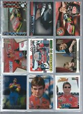 9 CARD LOT OF JEFF GORDON W/INSERT NO DUPES NASCAR N20