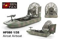 Hobby Fan 1/35 HF-080 Aircat Airboat (Vietnam War)