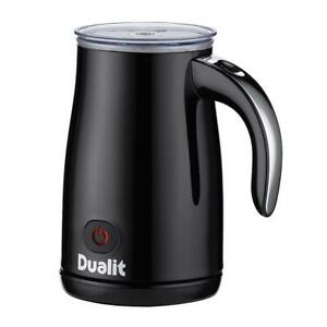 Dualit Cordless Milk Frother 320ml Dual Speed With One Touch Triple Function