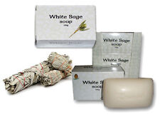 Kamini White Sage Purifying Beauty Bar Soap Natural Smudge Stick 100% Vegan