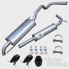 Auspuff Auspuffanlage SEAT IBIZA 6K1 1.0 1.4 Bj 99-02